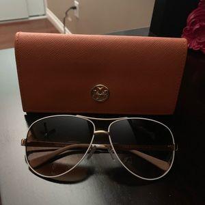 Tori Burch Aviator Sunglasses